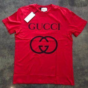 Gucci Casual t-shirt men's %95 cotton